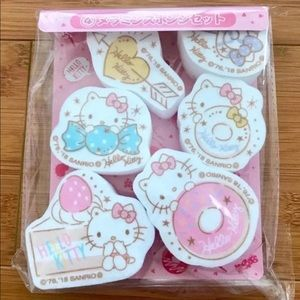 Hello Kitty Cleaning Sponges
